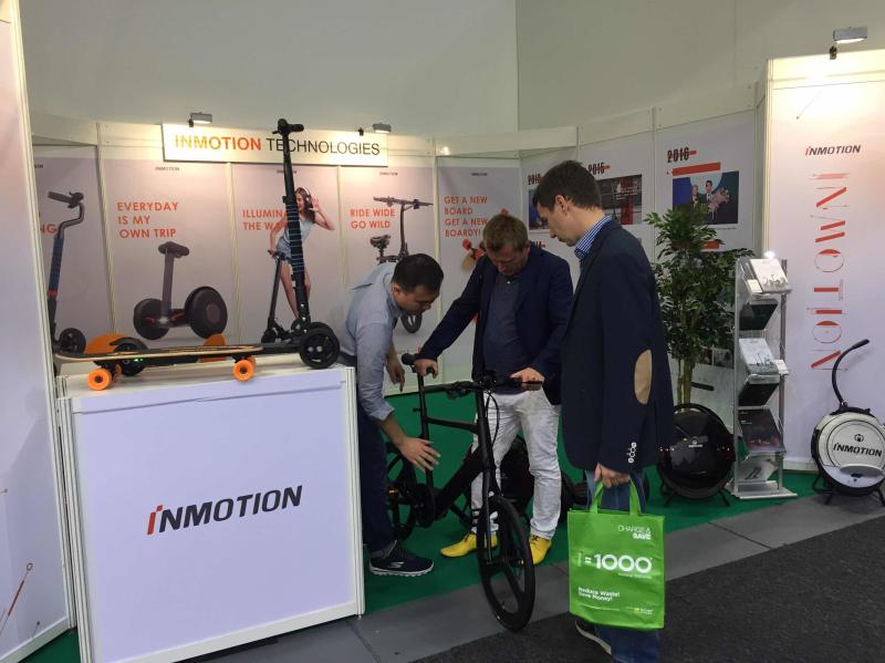 Inmotion displayed its smart vehicles at IFA
