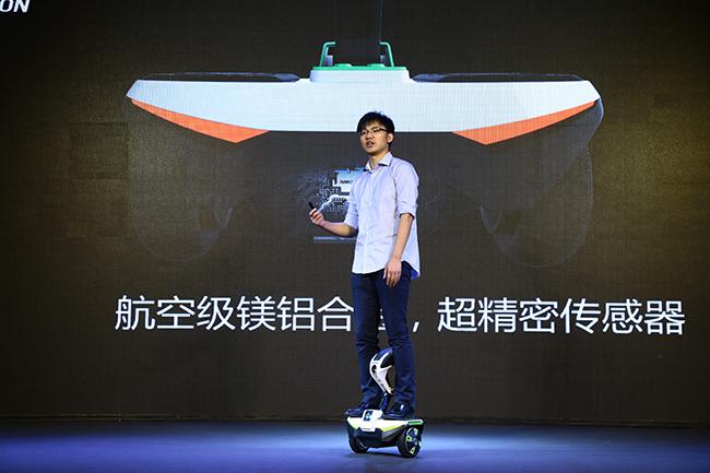 乐行周伟:从未来交通角度出发做智能平衡车