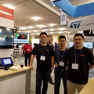 INMOTION has participated in Sensor Expo in Silicon Valley