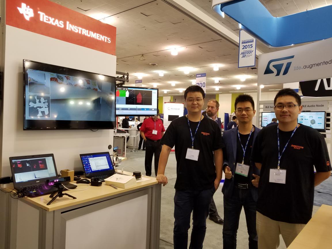 乐行3D深度摄像头及定位导航套件Navipack参加TheSensorExpo